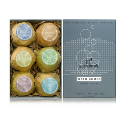 Art Naturals Bath Bombs 6 Pack Gift Set