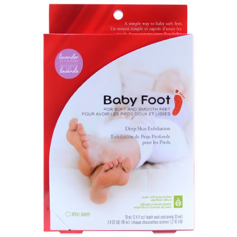 Baby Foot Deep Exfoliant Foot Peel
