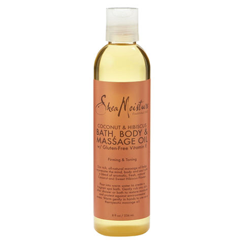 SheaMoisture Coconut & Hibiscus Bath Body & Massage Oil