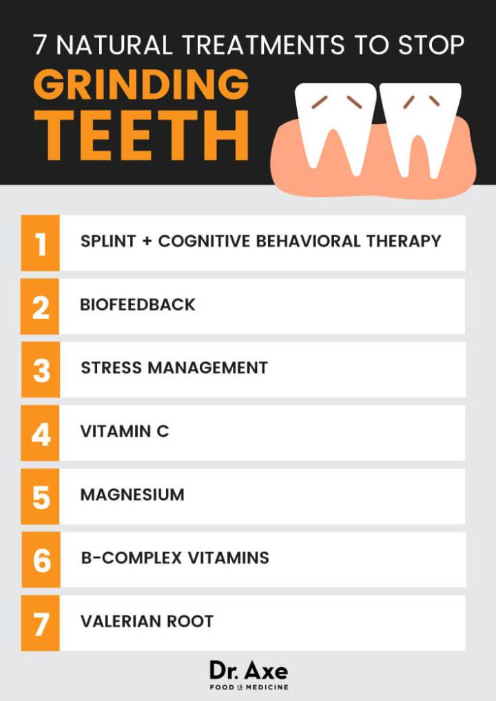 9 Natural treatments to stop bruxism - Dr. Axe