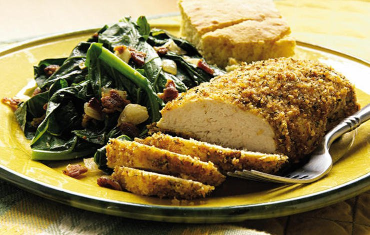 Breaded Dijon Chicken Breasts