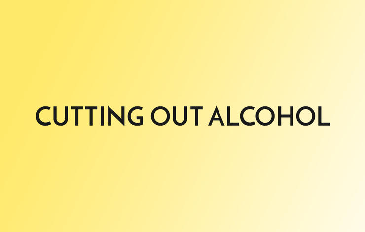 Cutting Out Alcohol