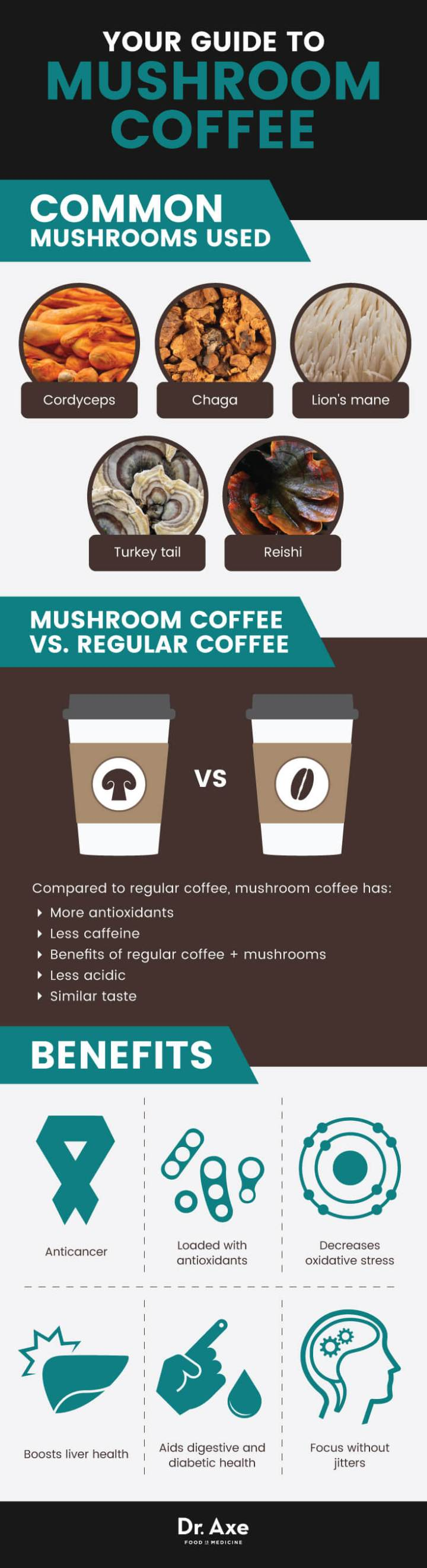 Your guide to mushroom coffee - Dr. Axe