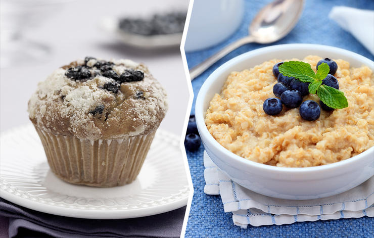 oatmeal for muffins