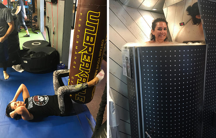 Unbreakable workout and cryogenic chamber