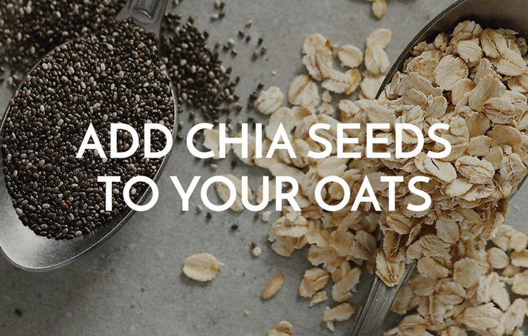 Add Chia Seeds To Your Oats