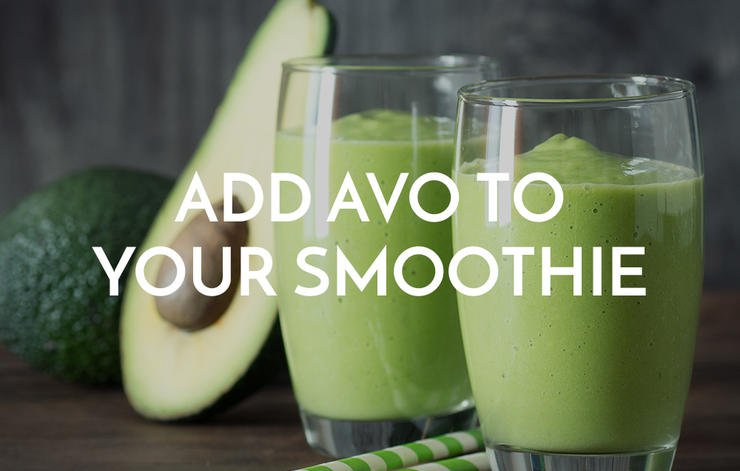 Add Avo To Your Smoothie