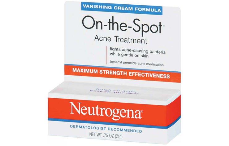 neutrogena acne treatment