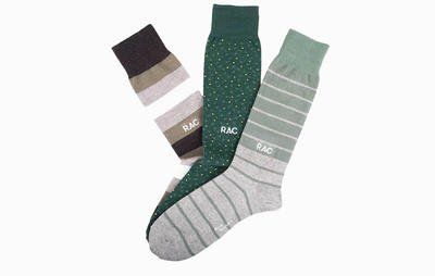 Best Monogrammed Socks: Nice Laundry