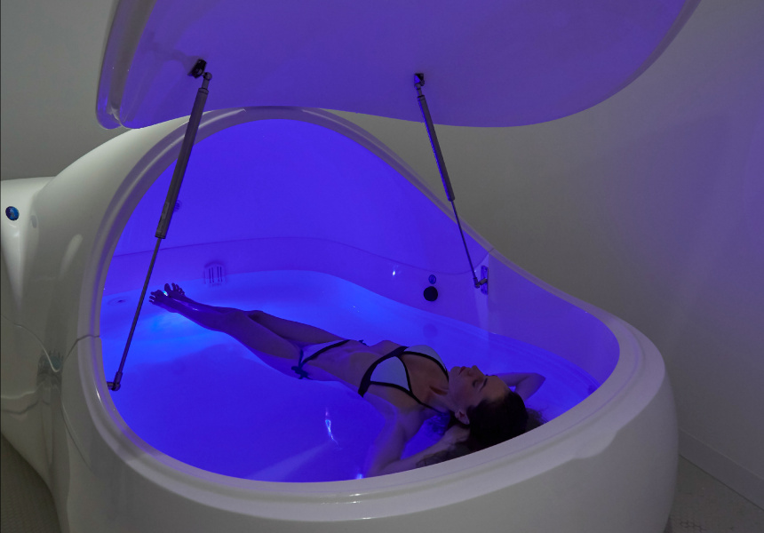 Sensory deprivation tank san jose