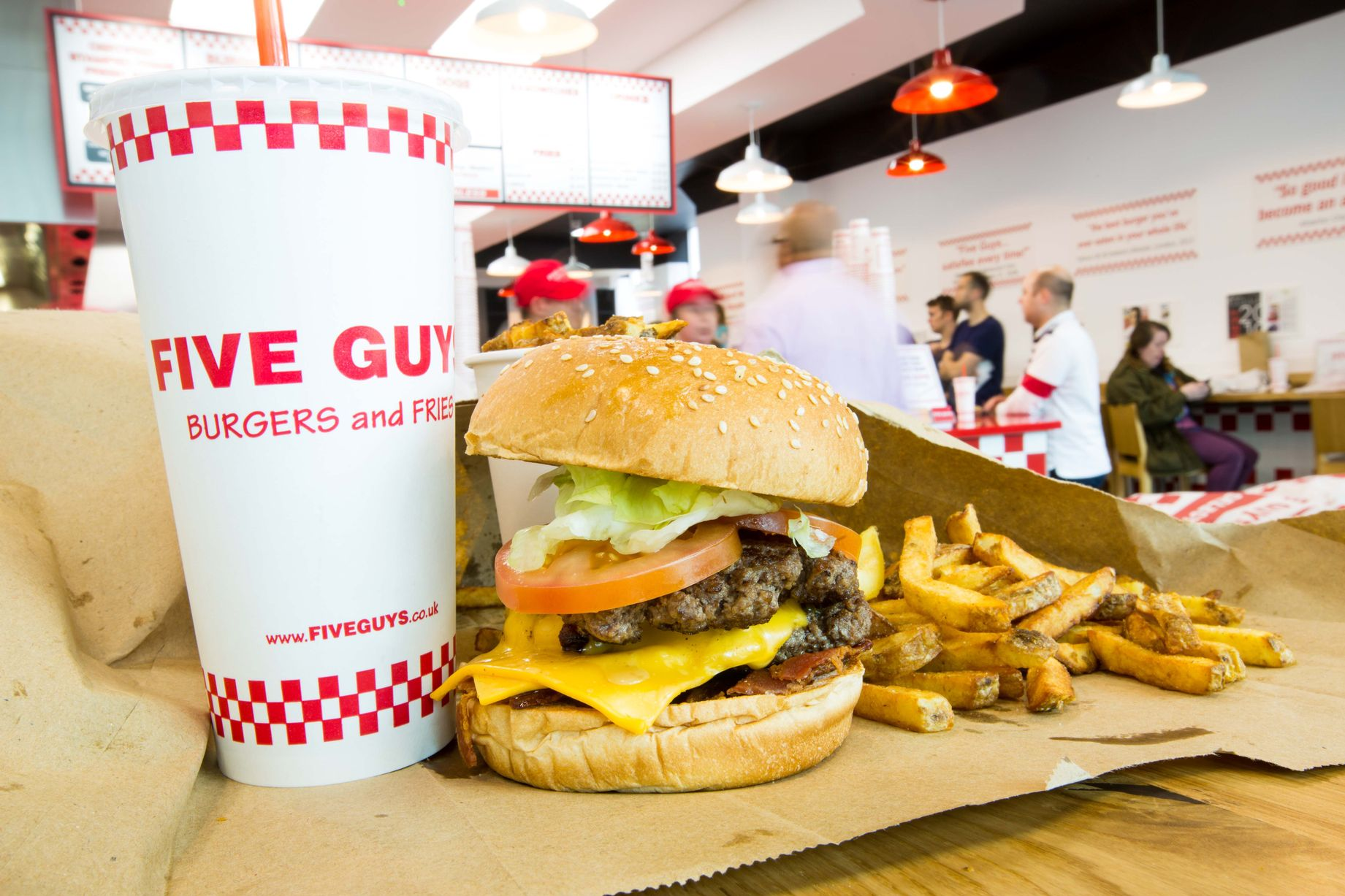 How Many Calories Are In A Five Guys Burger
