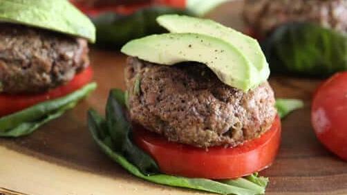 Lamb burgers recipe - Dr. Axe